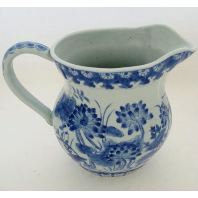 Chinese Porcelain Pitcher For Sale - Image 4 of 8