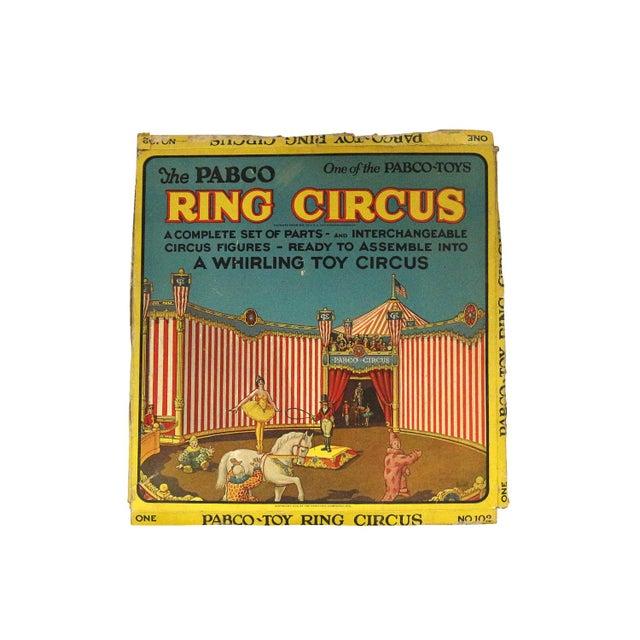 Antique 1920s Paper Circus Game Set - Image 3 of 9