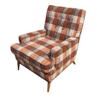 1960s Vintage t.h. Robsjohn-Gibbings for Widdicomb Lounge Armchair For Sale