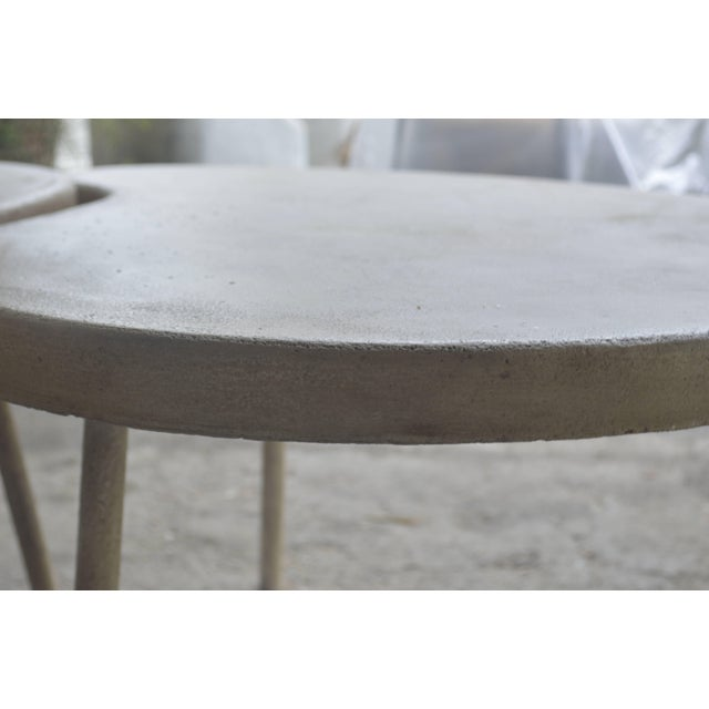 "Modern ""Ying Yang"" Coffee Table or Side Table For Sale - Image 4 of 7"