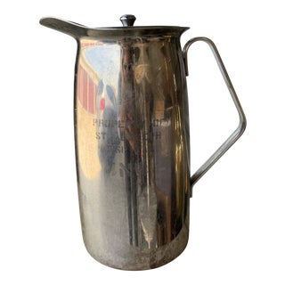 Mid-Century Silver Hospital Pitcher For Sale
