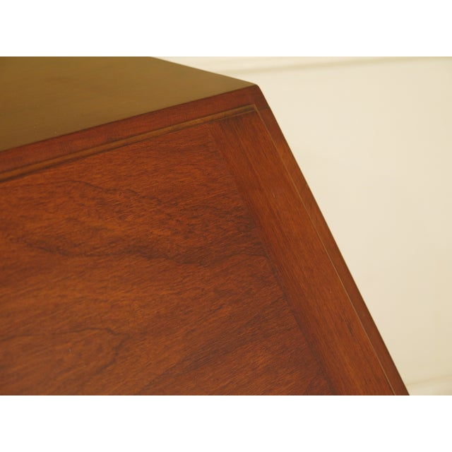 Brown Henkel Harris Model #6001 Cherry Slant Front Desk For Sale - Image 8 of 13