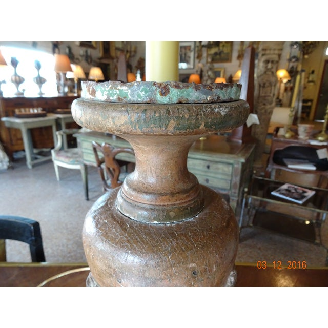 Italian Italian 19th Century Pair of Lamps For Sale - Image 3 of 13