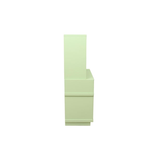 Green Basic Witz Midcentury Green Sideboard For Sale - Image 8 of 11
