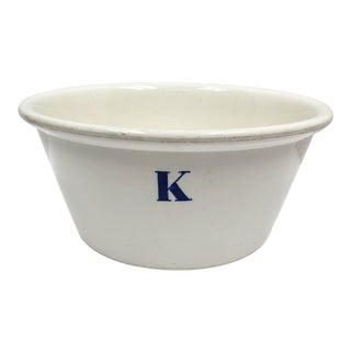 Vintage English Ironstone Bowl For Sale