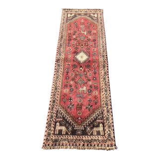 1950s Vintage Persian Gabbeh Rug - 2′3″ × 6′11″ For Sale