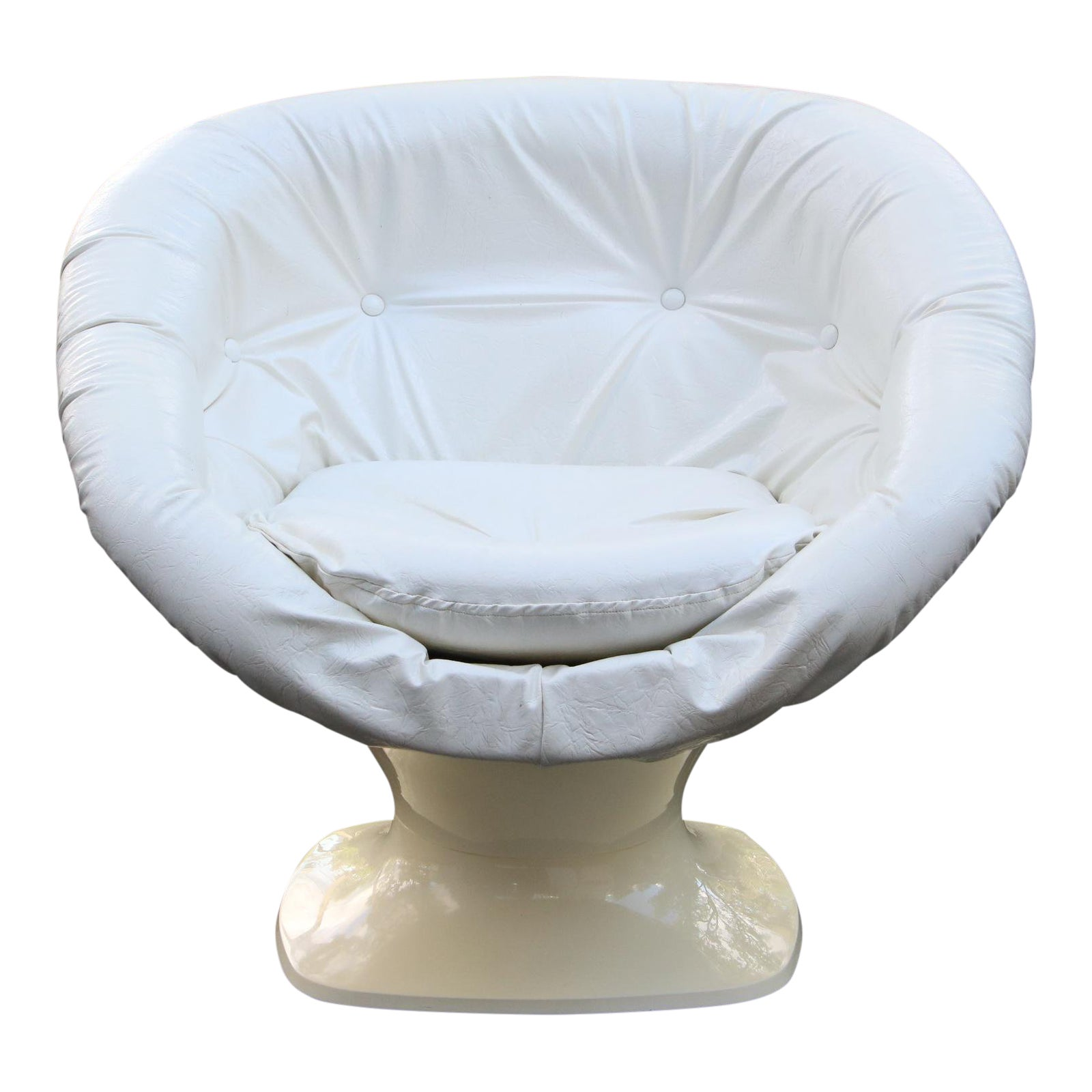 Raphael Raffel Space Age Plastic Tub Chair | Chairish