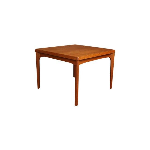 Exceptional Danish Modern teak, Mid Century Modern, vintage Scandinavian design, teak, side table by Vejle Stole &...