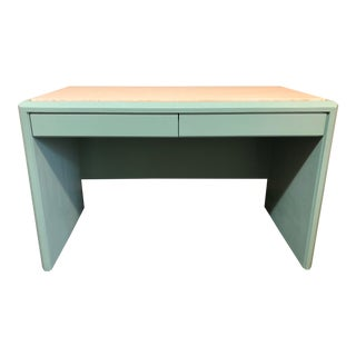 Travertine-Top Writing Desk For Sale