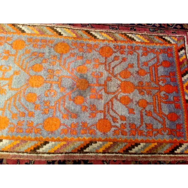 19th Century Art Nouveau Khotan Rug Runner - 2′2″ × 8′1″ For Sale In Chicago - Image 6 of 12