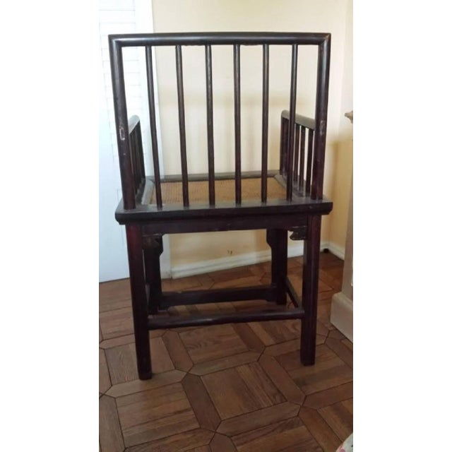 Chinese Huanghuali Style Chairs - Pair - Image 3 of 4