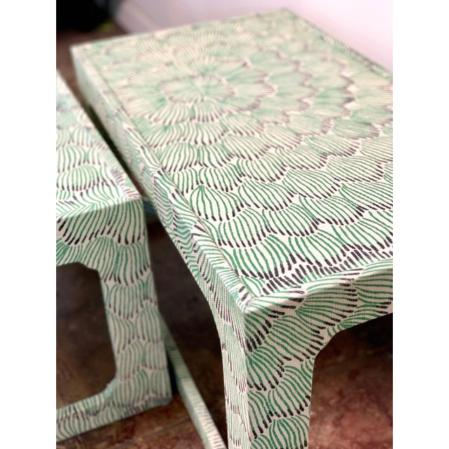 1970s 1970s Mid-Century Modern Celerie Kemble Nesting Tables - a Pair For Sale - Image 5 of 9