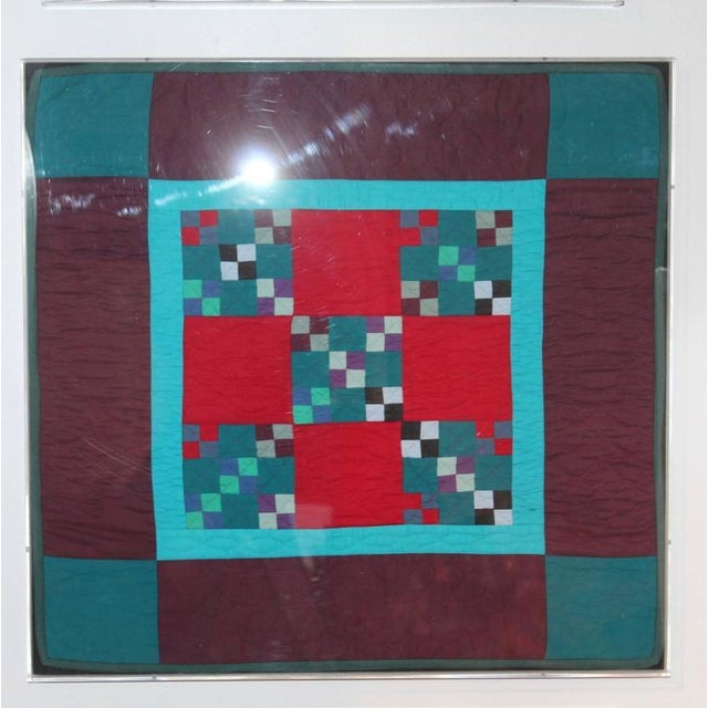 Collection of Four Rare Pennsylvania Amish Doll Quilts - Image 5 of 7