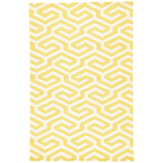 Jaipur Living Shorebreak Indoor/ Outdoor Geometric Area Rug - 5′ × 7′6″ For Sale