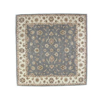 "Leon Banilivi Square Zeigler Carpet - 10'1"" X 10'2"" For Sale"