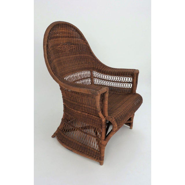 """1910s """"Guests Welcome"""" Chair by Dryad & Co. For Sale - Image 5 of 8"""