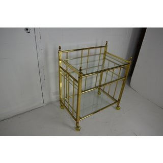 1970s Brass Bar Cart Preview