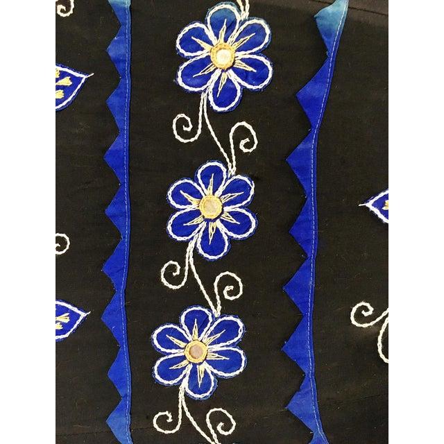 Sun Umbrella Garden Umbrella, Embroidered Cotton - Image 9 of 11