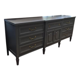 Long Stormy Grey Dresser