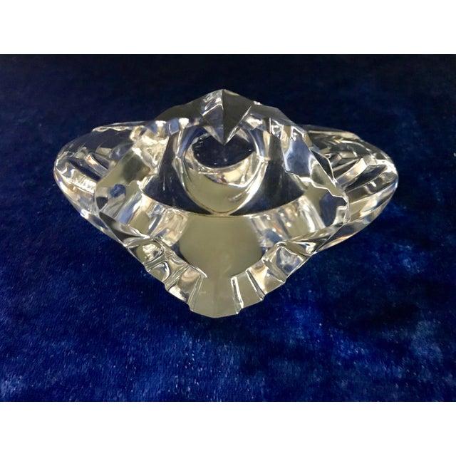 Glass Vintage Lloyd Atkins for Steuben Crystal Eagle Figurine For Sale - Image 7 of 9