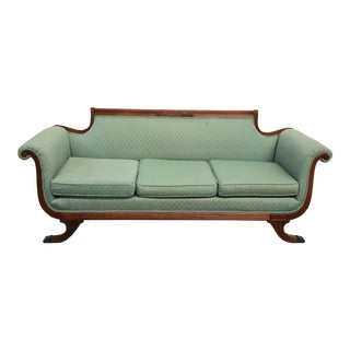 Duncan Phyfe Empire Style Settee