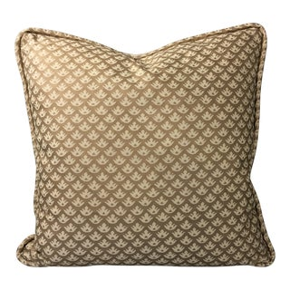 Canestrelli in Gold Fortuny Pillow