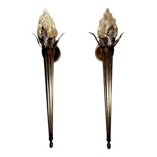 Early 21st Century Vintage Midsummer Night's Dream Wall Sconce Lamps- A Pair For Sale