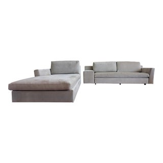 "Philippe Starck Cassina ""Mister"" Sofa and Chaise-Lounge For Sale"