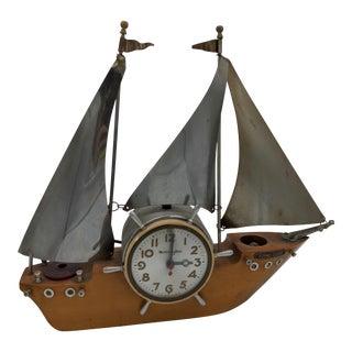 """Vintage """"Flying Cloud"""" Boat Clock For Sale"""