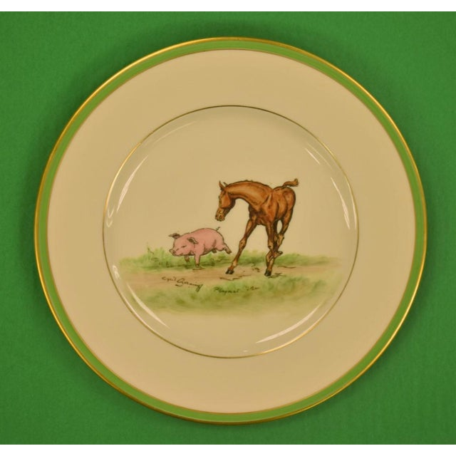 1950's Vintage Cyril Gorainoff Abercrombie & Fitch Plates - Set of 3 For Sale In New York - Image 6 of 12