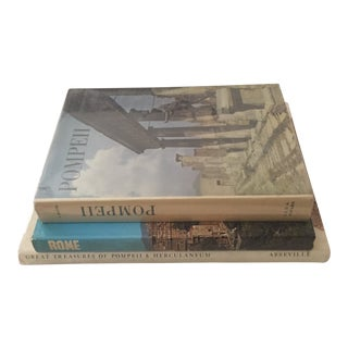 Mid-Century Ancient Roman Cities Books - Set of 3 For Sale