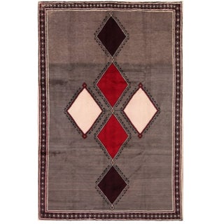 Persian Wool Rug - 6′10″ × 9′11″ For Sale
