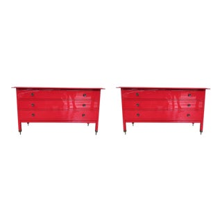 A Pair of Chest of Drawers by Carlo di Carli for Sormani, Italy 1960