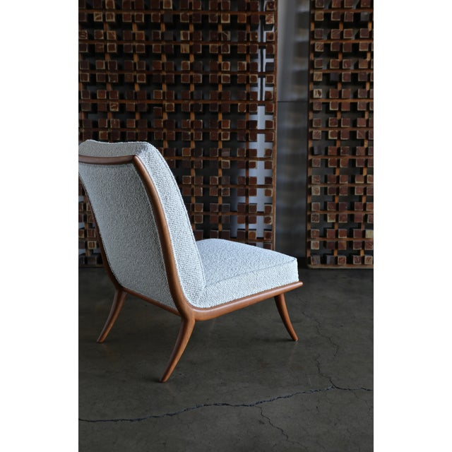 Widdicomb t.h. Robsjohn-Gibbings Slipper Chairs for Widdicomb Circa 1955 For Sale - Image 4 of 12