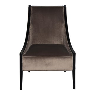 Caracole Brown Contemporary Chair For Sale