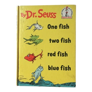 "First Edition Dr. Seuss ""One Fish, Two Fish"" Book"