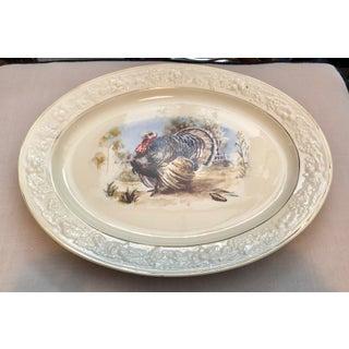 Hommer Laughlin Transfer-Ware Turkey Platter Preview