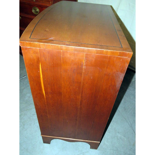 20th Century Federal Hickory Mfr Bachelors Chests - a Pair For Sale - Image 9 of 10