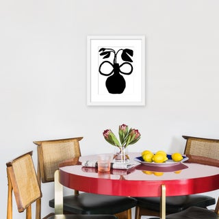 """Small """"Unusual Vase Five"""" Print by Kate Roebuck, 15"""" X 18"""" Preview"""