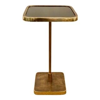 Arteriors Antique Brass Kaela Accent Table For Sale