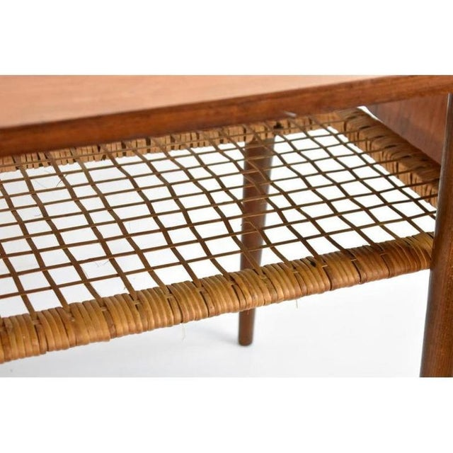 1960s Danish Rosewood Mid Century Modern Double Leaf Coffee Table For Sale - Image 4 of 6