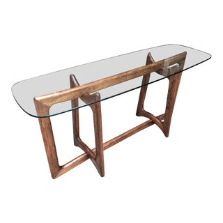 1960s Mid-Century Modern Adrian Pearsall Console Table For Sale