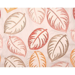 Hinson for the House of Scalamandre Palmer Fabric in Peach For Sale