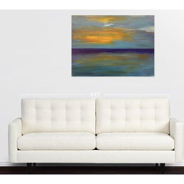 Purple Sunset Painting - Image 2 of 2