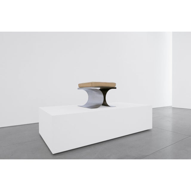Contemporary Michel Boyer 'X' Stool, C. 1968 For Sale - Image 3 of 8