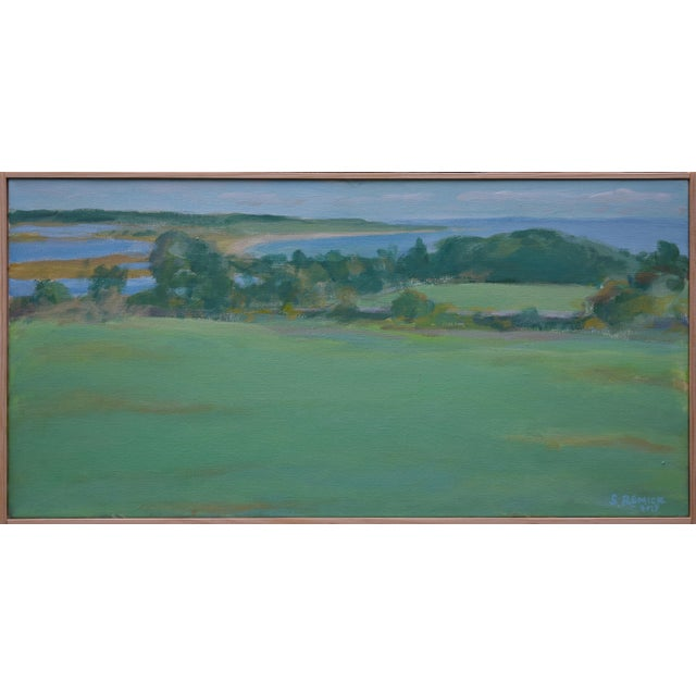 """""""Summer Days"""" Stephen Remick Contemporay Plein Air Painting For Sale - Image 10 of 10"""