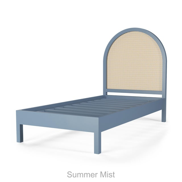 Eva Bed - Twin - Summer Mist Blue For Sale - Image 4 of 4