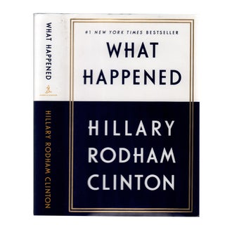 "2017 ""What Happened"" Collectible Book For Sale"