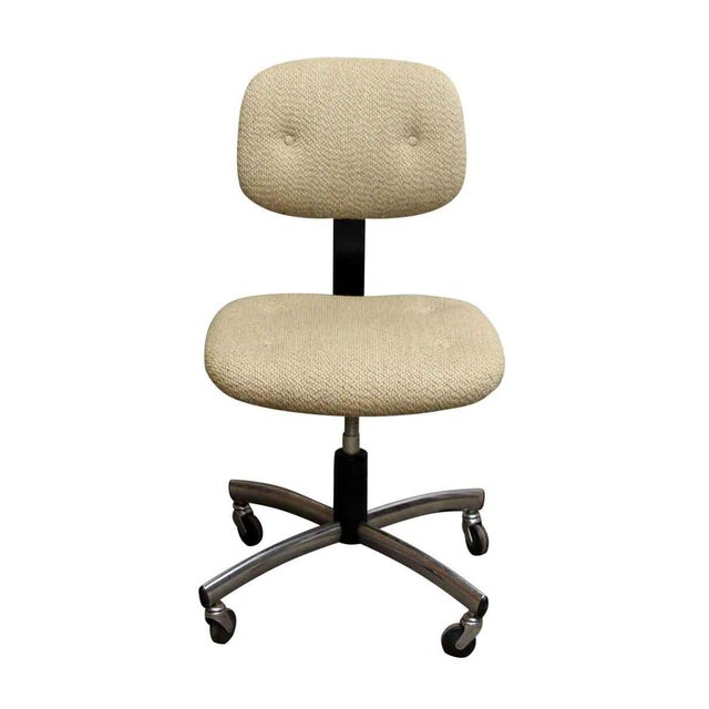 Model no. 421 520. Made in 1984. Dimensions Floor to seat 18 in. H, 27 in. W x 27 in. D x 34.5 in. H