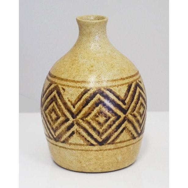1980s Mid-Century California Potter Weed Pot For Sale - Image 5 of 5